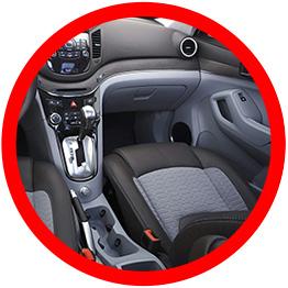 Protege los interiores del auto