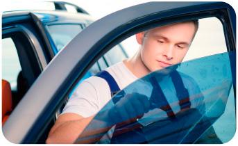 polarizando un auto